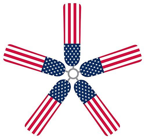 Fan Blade Designs American Flag Ceiling Fan Blade Covers