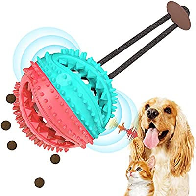 Amazon - 45% Off on Dog Chew Toys, Durable Rubber Dog Toys for Aggressive Chewers Dog Teeth