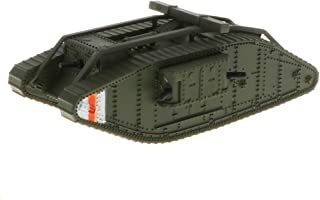 Toygogo 1/100 Diecast Tank WWI UK Mark MK. IV Female British Model Toy Soldiers