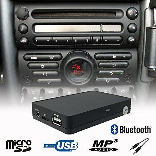 Manos Libres Bluetooth A2DP USB SD AUX Adaptador de Interfaz de ...
