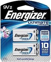 Energizer Ultimate Lithium 9V 2-Pack - L522BP2