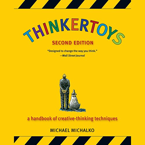 Thinkertoys audiobook cover art