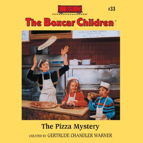 The Pizza Mystery audiobook cover art