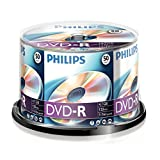 PHILIPS DVD-R 4.7 GB Data / 120 min. 16 X Spindle de 50