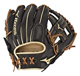 Mizuno 312675.RG90.12.1175 GPS1BK-600R Pro Select Infield Baseball Gloves, 11.75', Left Hand, Black T Web