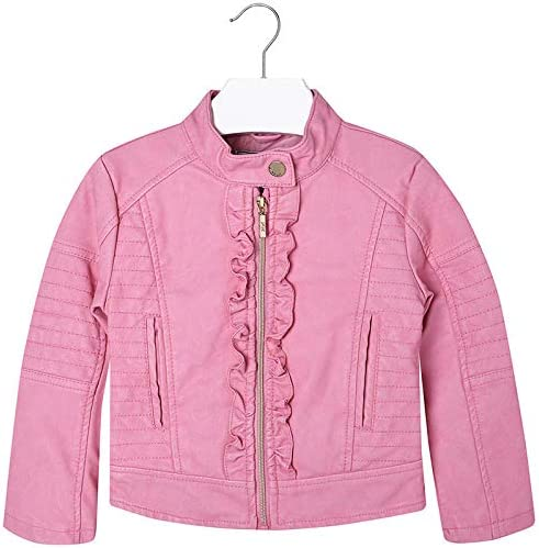 Mayoral Little Girls 2-9 Leatherette Frilled Jacket Regular dealer 5% OFF