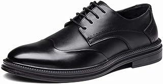 [hitstar] ビジネスシューズ フォーマル 通勤 防滑 冠婚葬祭 おしゃれ ブリティッシュスタイル ブルックレザー 紳士靴 カジュアル 革靴