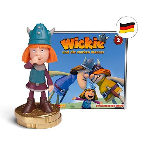 tonies Hörfiguren für Toniebox: Wickie Hörspiel Figur - Die Königin der Winde - ca. 61 Min - ab 5 Jahre - DEUTSCH