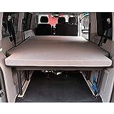 KFoam.es Colchón Plegable para Volkswagen T5, T6, Multivan, California Beach y Caravelle 185x148x8...