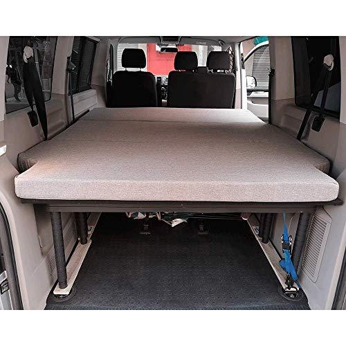 KFoam Klappmatratze für Volkswagen T5 T6 Multivan California Beach Caravelle 185 x 148 x 8 cm