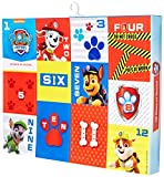 Nickelodeon boys Paw Patrol 12 Days of Advent Box Socks, Assorted Neutral, Sock Size 5-6.5 Fits Shoe Size 4-7.5 US