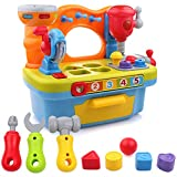 Liberty Imports Little Engineer Multifunctional Kids Musical Learning Tool Workbench