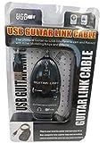 QiCheng&LYS Cable de audio de enlace para guitarra USB a USB, adaptador de grabación de PC/Mac