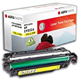 Agfa Photo APTHP032AE - Cartucho de tóner, 12500 páginas, color amarillo