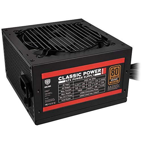 KOLINK Classic Power 80 Plus Bronze - Fuente de alimentación para ordenador 500 w