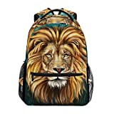 <span class='highlight'><span class='highlight'>COOSUN</span></span> King Lion Casual Backpack School Bag Travel Daypack