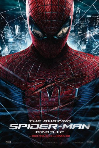 AMAZING SPIDER-MAN (2012) Original Authentic Movie Poster 27x40 - Dbl-Sided - Andrew Garfield - Emma Stone - Rhys Ifans - Denis Leary