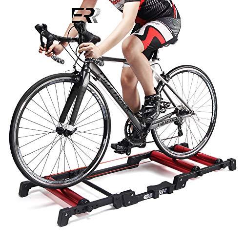 F-JX Indoor Cycling Bike, Startseite Sport Trainer, Speed Resistance Mute Smart-Übungs-Fahrrad, Gewicht zu verlieren Fitness Equipment