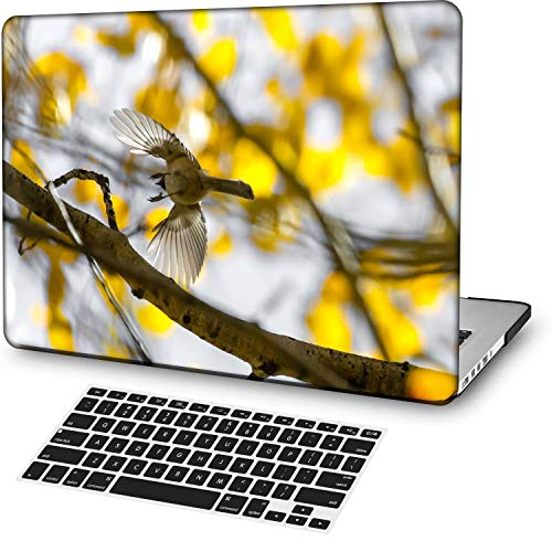 MingCaiFS Laptop Case for MacBook Air 13' Retina (Touch ID) Cut Out Design,Plastic Pattern Ultra Slim Light Hard case Keyboard Cover (Model:A2179) Animal B 0851