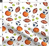 Basketball, Golf, Tennis, Baseball, Fußball, Sport Stoffe
