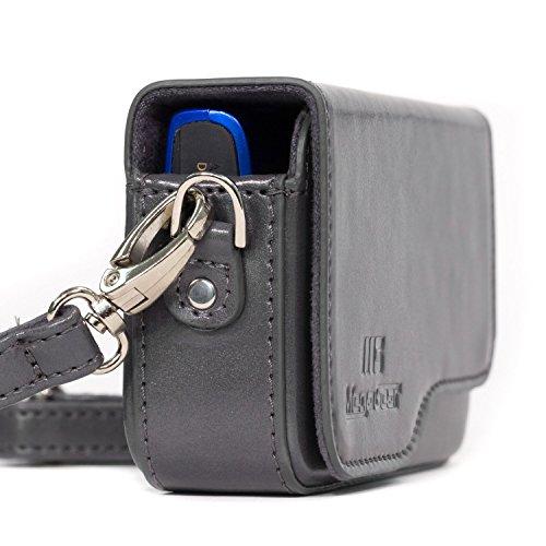 MegaGear MG1092 Custodia per Fotocamera PowerShot SX620 HS, SX610 HS, IXUS 360 HS, IXUS 190 IS, IXUS 180, IXUS 170 IS, Grigio