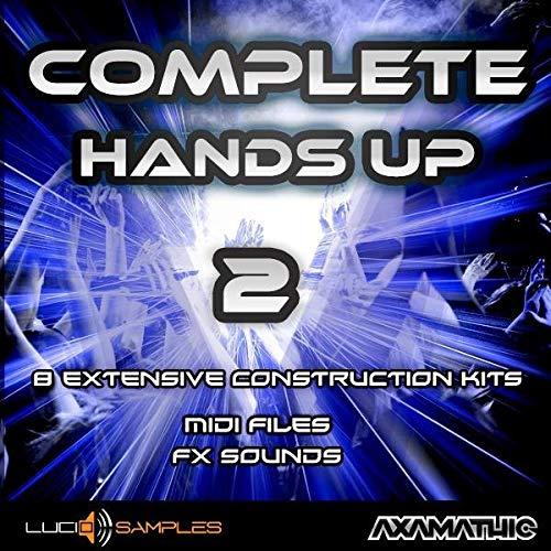 Complete Hands UP Vol. 2 enthält 8 ausführliche 'Konstruktionssets' mit den charakteristischen Musik Hands Up, energischen Melodien und Synthesizern, wie auch Tanzklan...|WAV + MIDI Files DVD non BOX