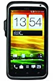 Xpal Power BC01HCNCT02-001BK Powerskin Protective Case with Built-in Battery for ATT HTC One X and X+ - 1 Pack - Retail Packaging - Black