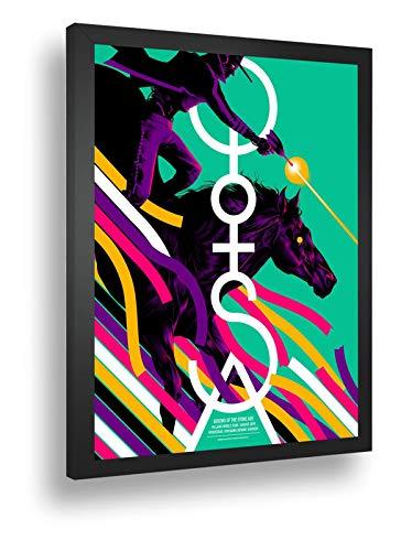 Quadro Decorativo Poster Queens Of The Stone Age Brisbane