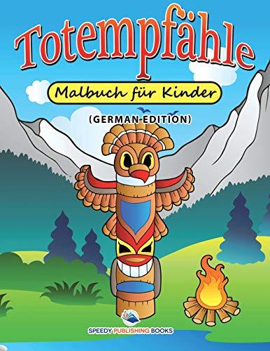 Totempfähle-Malbuch für Kinder