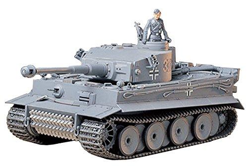 タミヤ 1/35 ミリタリーミニチュアシリーズ No.216 ドイツ陸軍 重戦車 タイガーI 型 初期生産型 プラモデル...