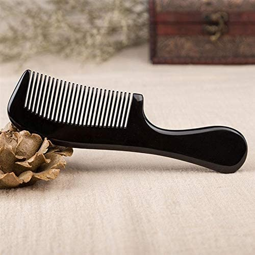 KKLL Natural Horn Comb-Natural Ox Tee Comb Directly managed store Fine Anti-Static Special price for a limited time