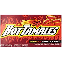 12-Pack Hot Tamales Candy, Cinnamon, 5 Ounce