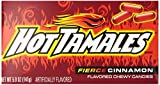 Hot Tamales Fierce Cinnamon Chewy Candy, 5 ounce Theater Box (Pack of 12)