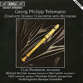 Telemann: Complete Double Concertos With Recorder