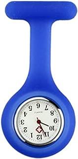 Nurse Pocket Watch with Brooch Silica Gel Case & Glow Pointer in Dark