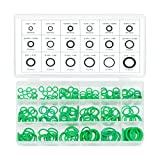 Neiko 50445A O-Ring Rubber Assortment Kit Set with Holder Case   SAE and Metric   270 Pieces Variety Pack, Combination