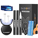 Teeth Whitening Kit, OUZIGRT Zähne Bleaching Set, 32X LED Licht Zahnaufhellung Set mit