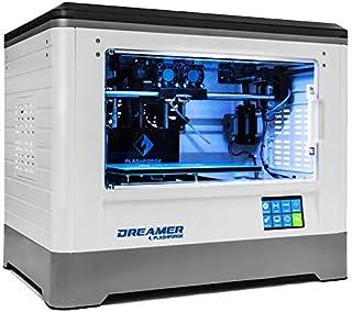 WOL 3D Flashforge Dreamer 3D Printer with Dual Extruder W/6 Free Spools