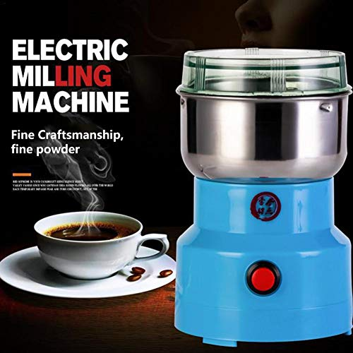 Macddy Elektrische Getreidemühle Gewürzkräutermühle Pulverisierer Superfeine Pulvermaschine Für Gewürzkräuter Getreide Kaffee Reis Mais Sesam Sojabohnenfischfutter Pfeffer Medizin