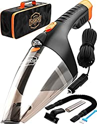 professional Portable Car Vacuum Cleaner: High Performance Handheld Vacuum Cleaner with LED Lights – 110 W, 12 V Best Cars and Cars…