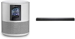 【セット買い】BOSE HOME SPEAKER 500 スマートスピーカー Amazon Alexa搭載 ラックスシルバー & SOUNDBAR 500 ワイヤレスサウンドバー Amazon Alexa搭載