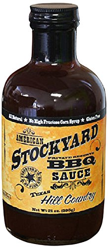 American Stockyard Texas Hill Country BBQ Sauce, 14 Ounce