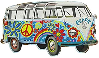 Hippy Bus Die Cut Tin Sign