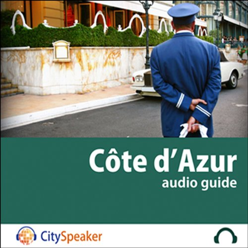 Côte d'Azur (Audio Guide CitySpeaker) audiobook cover art