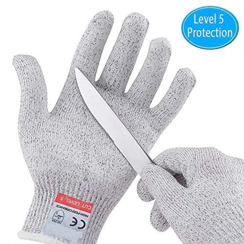 Buy-To HPPE EN388 ANSI Level 5 Snijbestendige handschoenen, anti-cut veiligheid bij het werken in de keuken