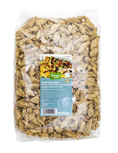 Vantastic Foods Soja Schnetzel Fleischersatz Sojafleisch, 1kg