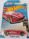 Hot Wheels 2018 Barbie Car Hw Screen Time 7/10 - '14 Corvette Stingray (Pink)