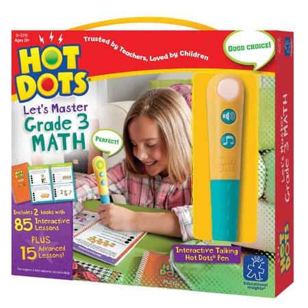 Hot Dots Let's Master 3rd Grade Math