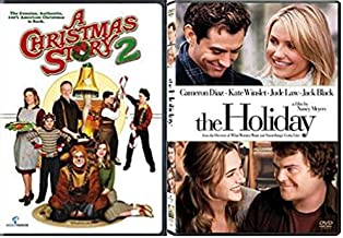 A Christmas Story 2 & The Holiday - Christmas DVD Bundle