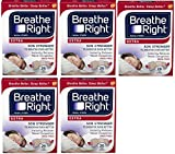 Breathe Right Nasal Strips to Stop Snoring, Drug-Free, Extra Tan, 130 (Count)